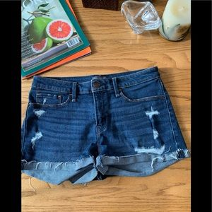 Abercrombie and Fitch denim shorts low rise 27w 4